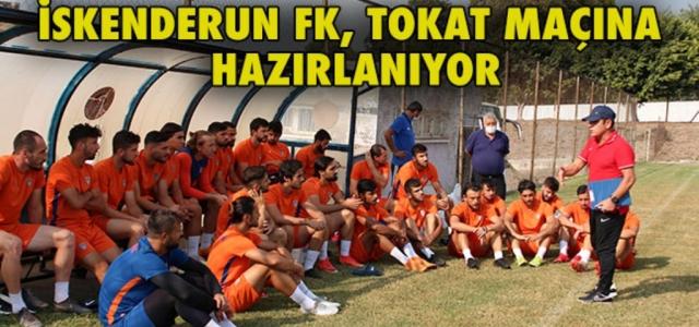 İskenderun FK Tokat Maçına Hazırlanıyor