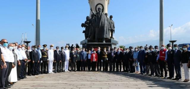 İskenderun'da 30 Ağustos Zafer Bayramı Coşkusu