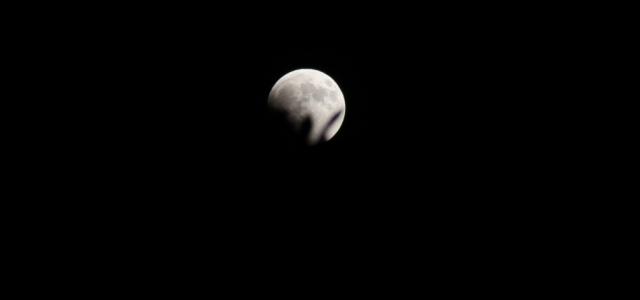 İskenderun'da Ay Tutulması
