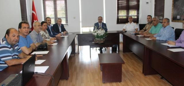 İskenderun'da Basına Seçim Tedbirleri Anlatıldı