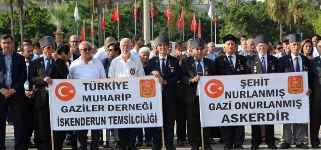 İskenderun'da 'Gaziler Günü' Kutlandı