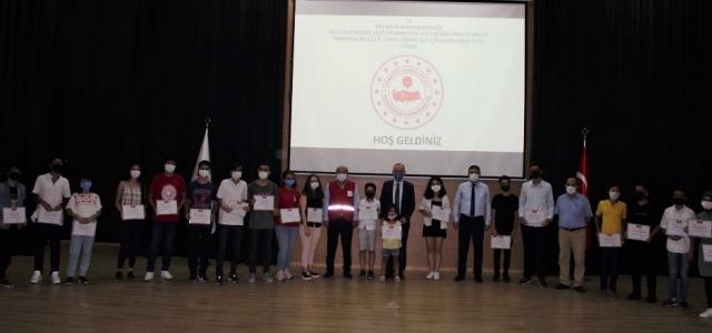 İskenderun'da LGS ve YKS Başarısına Ödül