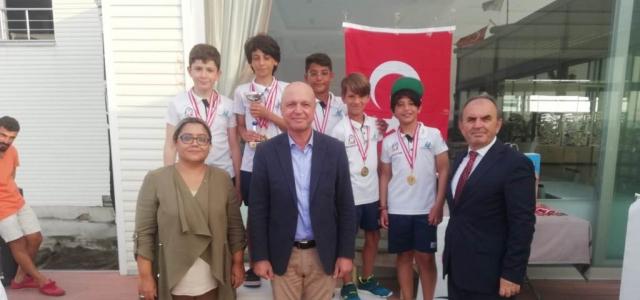İskenderun'da Sahil Güvenlik Yelken Kupası Şampiyonası düzenlendi