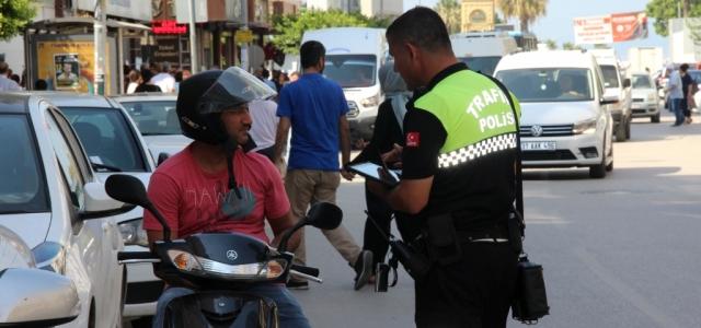 İskenderun'da Şehir İçi Trafik Denetimi