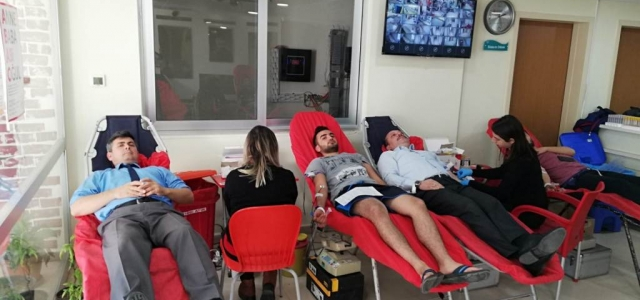 İskenderun'daki KYK Öğrencilerinden Kan Bağışı