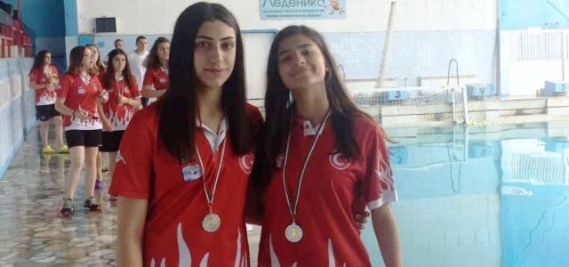 İskenderun'lu Genç Yüzücüler Milli Takımda
