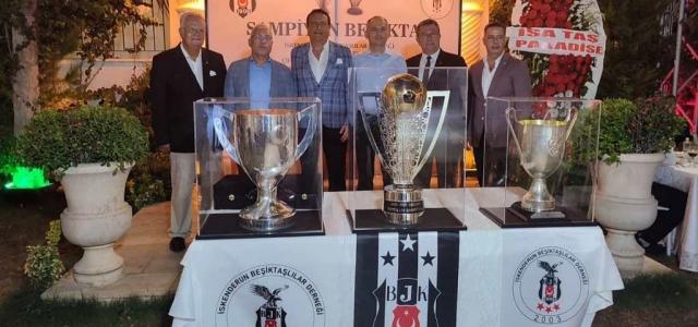 İskenderun'lu Kartallar Şampiyonluğu Kutladı