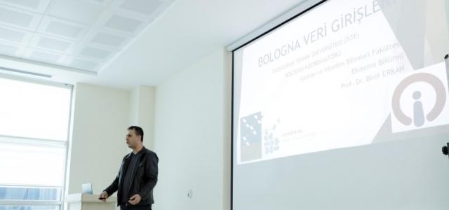 İSTE 'de Birim Bologna Eğitimleri Sürüyor