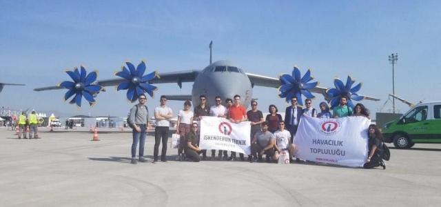 İSTE Eurasia Airshow'a Katıldı