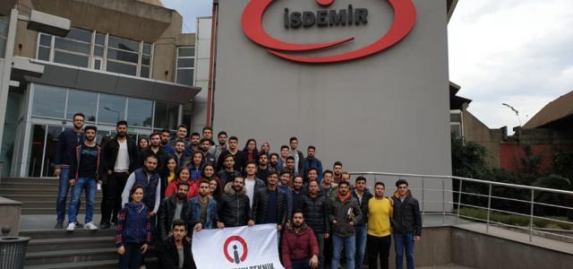 İSTE, İSDEMİR'e 'Teknik Gezi' Düzenledi