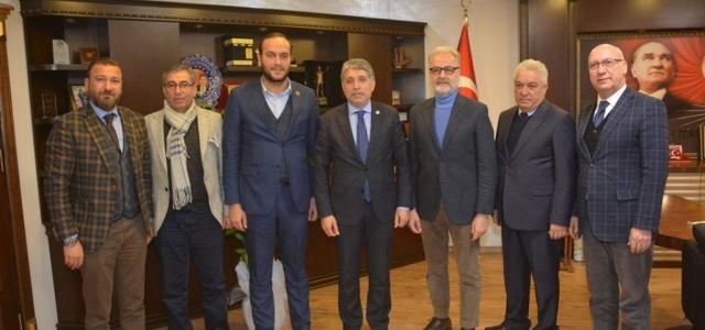 İTSO Ayhan Yavuz'u Ziyaret Etti