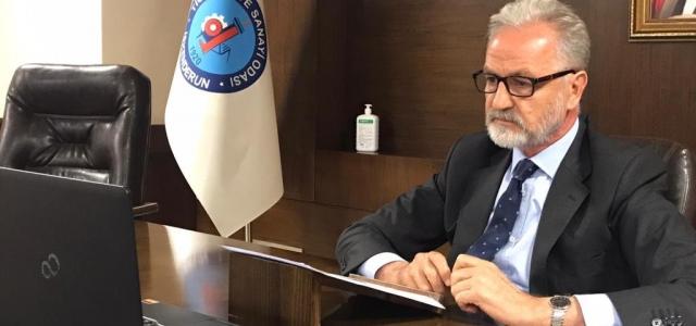İTSO Başkanı Yılmaz TOBB Toplantısına Katıldı