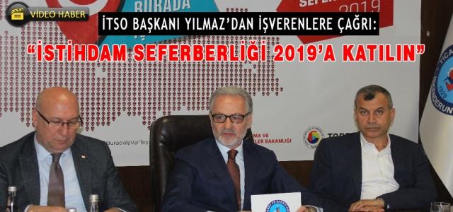 İTSO Başkanı Yılmaz:  'Türkiye'nin Geleceğine Yatırım Yapın'