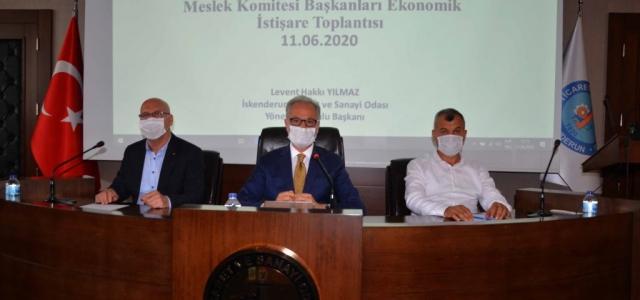 İTSO' da Ekonomik İstişare Toplantısı