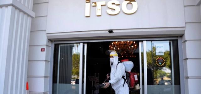 İTSO'da Dezenfeksiyon Çalışmaları Sürüyor