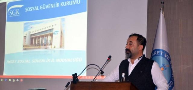 İTSO'da SGK Prim Borçları Ele Alındı