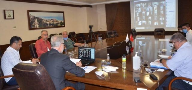İTSO'da Video Konferans Yöntemiyle Konferans