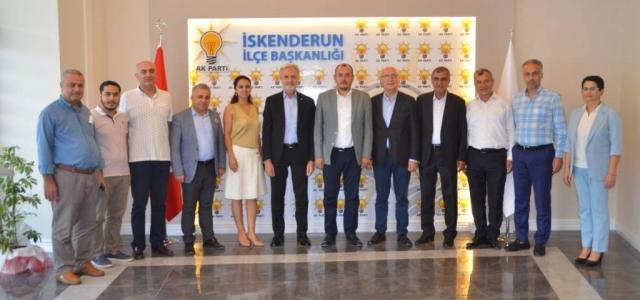 İTSO'dan Ak Parti'ye Hayırlı Olsun Ziyareti