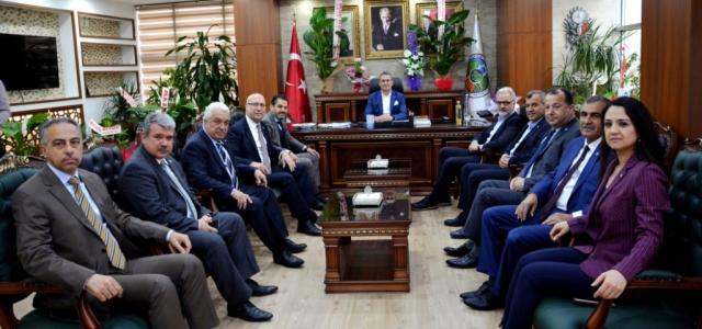 İTSO'dan Başkan Gül'e Hayırlı Olsun Ziyareti