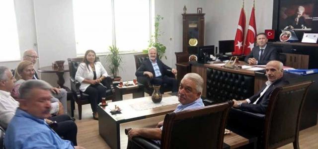 İTSO'dan Cumhuriyet Başsavcısı Ünalan'a Ziyaret