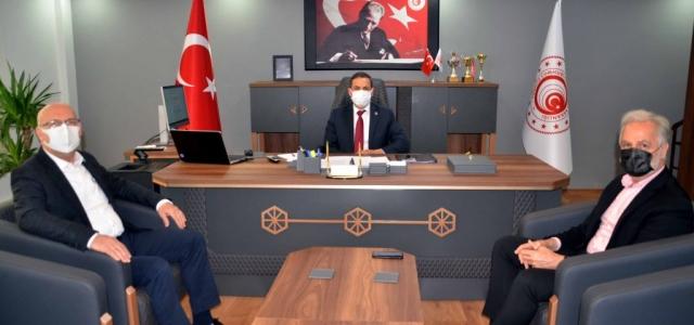 İTSO'dan Gümrük Bölge Müdürü Yıldırım'a Ziyaret