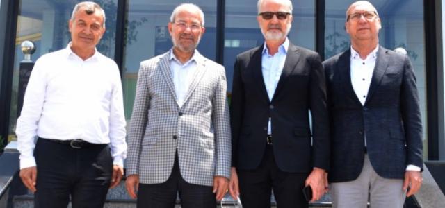 İTSO'dan OSB Başkanı Tosyalı'ya Ziyaret