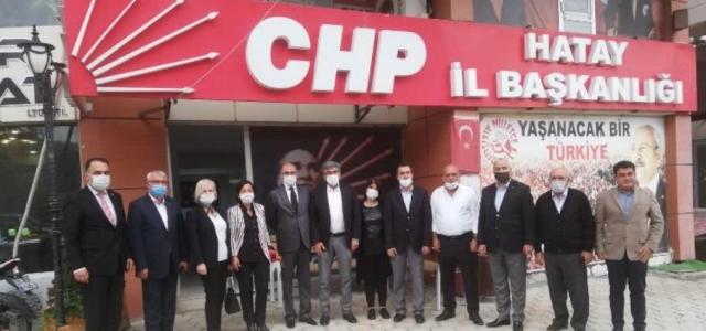 İyi Parti'den CHP İl Başkanlığı'na Ziyaret