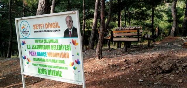 Karayılan Mimar Sinan Parkı Yenileniyor