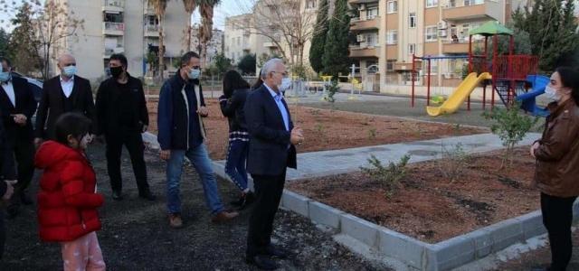 'Kentimize Yeni Parklar Kazandırıyoruz'