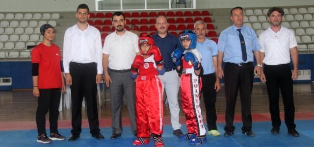 Kick Boks İl Şampiyonası İskenderun'da yapıldı