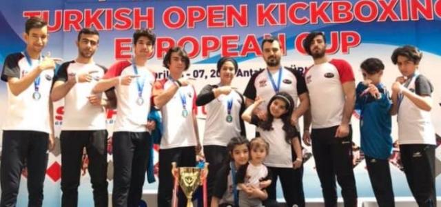 Kick Boks'ta İskenderun'a Avrupa Kupası
