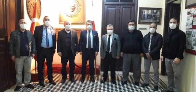 Küresel Gazeteciler Konseyi'nden İGC'ye Ziyaret
