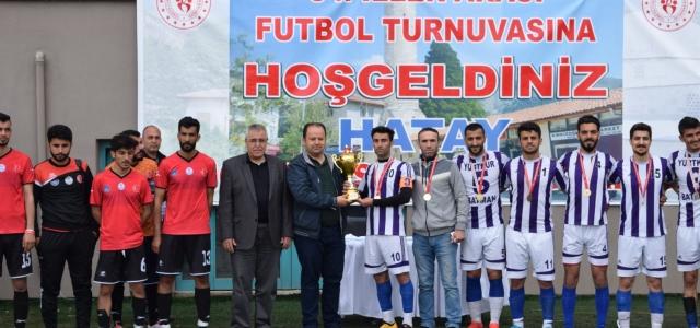 KYK 34. İller Arası Futbol Turnuvası Hatay'da Yapıldı