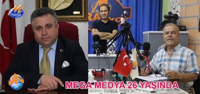 Mega Medya 26 Yaşında…