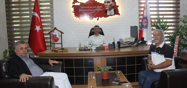Mega Medya'dan Arsuz Emniyet Müdürüne Ziyaret