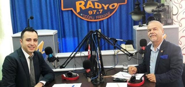 Mega Radyo'da Kalp-Damar Konuşuldu!