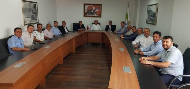 MHP İlçe Yönetiminden Cantürk'e Ziyaret