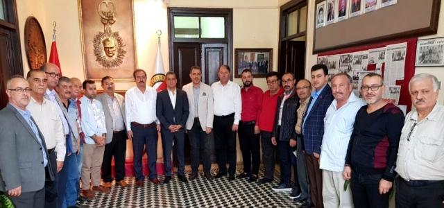 MHP'den İGC'ye Ziyaret