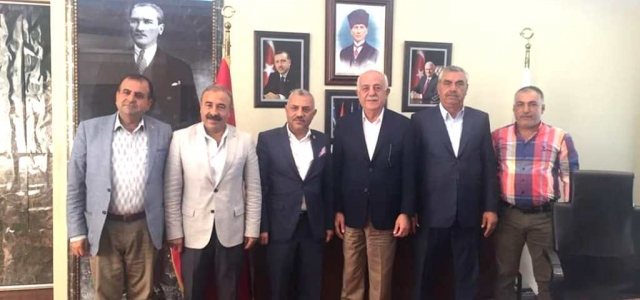 Milletvekili Şanverdi'den Başkana Ziyaret