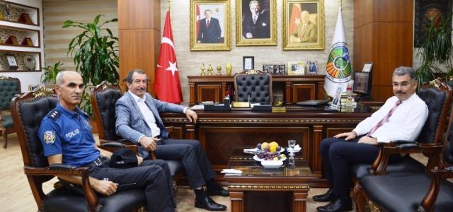 Milletvekili ve İl Emniyet Müdüründen Başkan Vurucu'ya Ziyaret