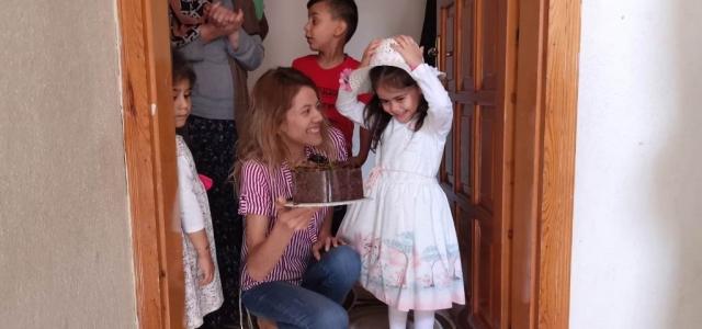 Minik Elif'e Sürpriz Doğum Günü