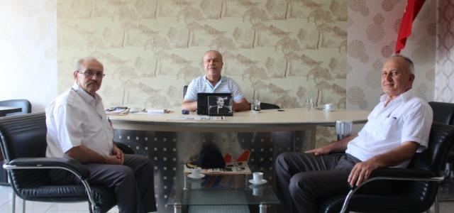 Muharip Gaziler'den Mega Medya'ya Teşekkür Ziyareti