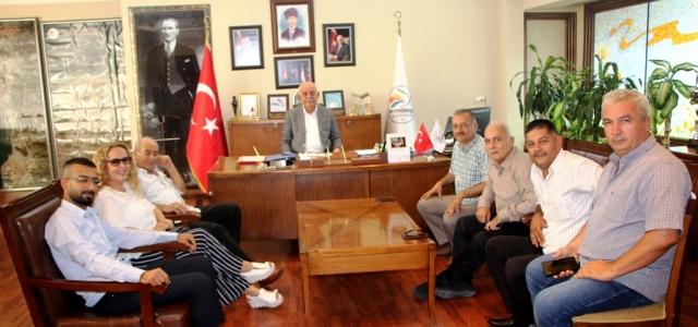 Muhtarlar Derneğinden Seyfi Başkan'a Ziyaret