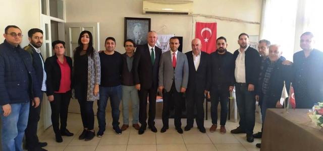 Nevzat Müdür'den Eczacı Teknisyenlerine Ziyaret