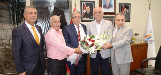 Oda Başkanlarından Seyfi Başkan'a Nezaket Ziyareti