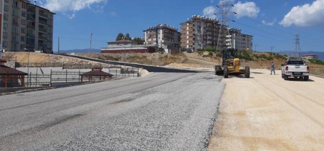 Okul Yolları Modernize Ediliyor