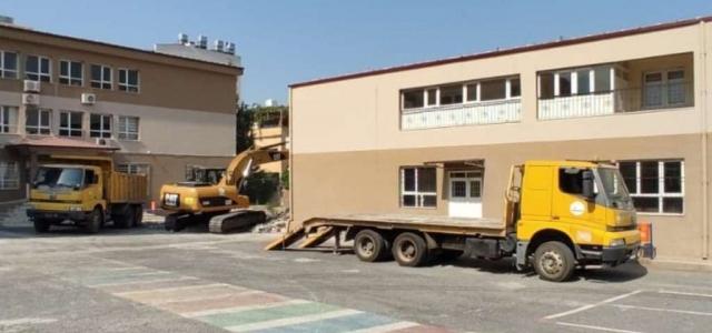 Okulların Çevre Düzenlemesi Devam Ediyor
