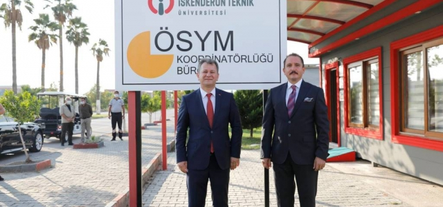 ÖSYM Başkanı Aygün'den İSTE'ye Ziyaret
