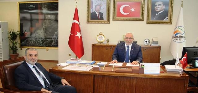 Rektör Dereli, Başkan Tosyalı'ya Ziyaret Etti