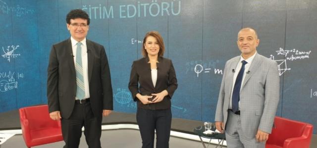 Rektör Dereli TRT Haber'e Konuk Oldu